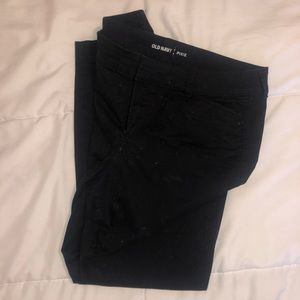 Old Mavy Black Pixie Pants